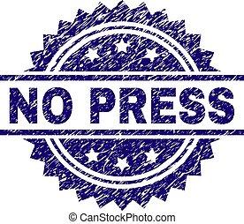 Grunge Textured NO PRESS Stamp Seal