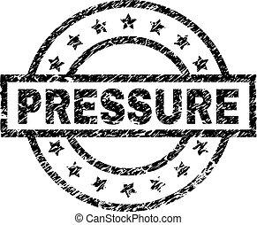 Grunge Textured PRESSURE Stamp Seal