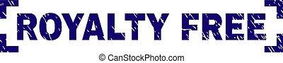 Grunge Textured ROYALTY FREE Stamp Seal Between Corners -...