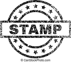 Grunge Textured STAMP Seal