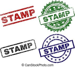 Grunge Textured STAMP Seals