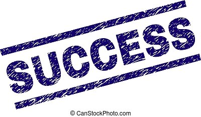 Grunge Textured SUCCESS Stamp Seal