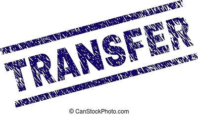 Grunge Textured TRANSFER Stamp Seal - TRANSFER seal print...