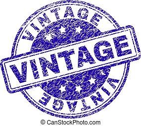 Grunge Textured VINTAGE Stamp Seal