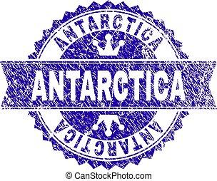 grunge, timbre, textured, antarctique, cachet, ruban