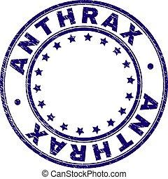 grunge, timbre, textured, cachet, anthrax, rond