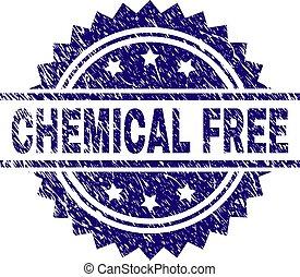 grunge, timbre, textured, gratuite, chimique, cachet