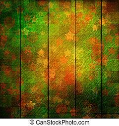 grunge, trä, årgång, skrapa, bakgrund, med, fläck, boke.
