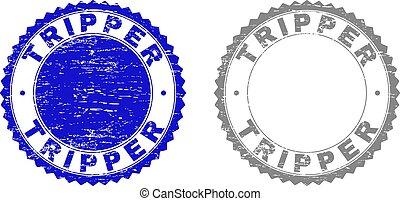 Grunge TRIPPER Textured Stamps