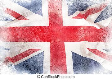 Union Jack - Grunge Union Jack flag