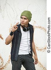 Grunge urban youth