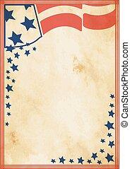 Grunge US vintage poster