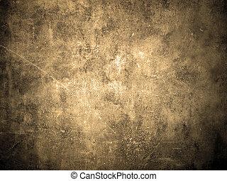grunge, vägg, bakgrund