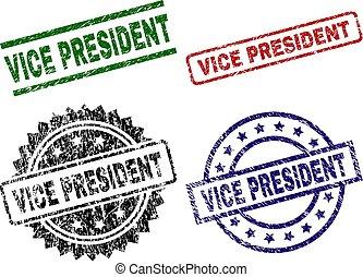 grunge, vício, selo, selos, textured, presidente