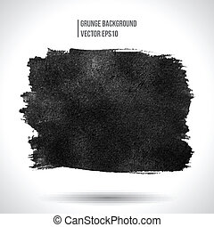Grunge vector background - Grunge background. Watercolor...