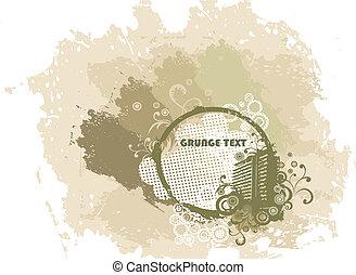 Grunge vector urban background