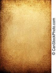 grunge, vendemmia, fondo, con, ornamentale, frame., spazio, per, testo, o, image.