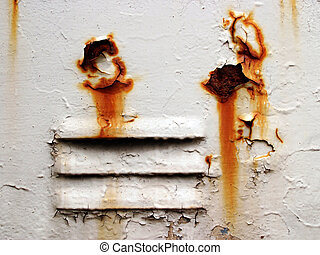 Grunge ventilation with corrosion holes
