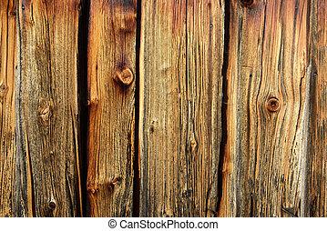 grunge, viejo, tabla de madera, con, textura