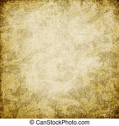 Grunge vintage decorated background with space for text.