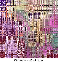 Grunge, vintage old background. With different color ...