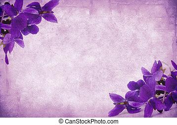 grunge, violetas