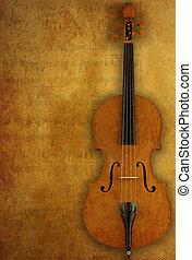 Grunge violin