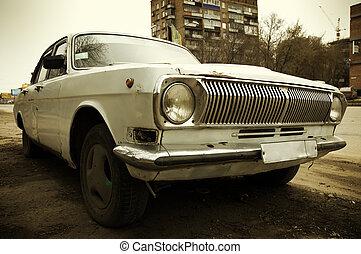 grunge, wóz