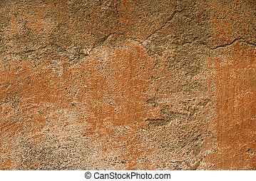 Grunge wall texture decorated