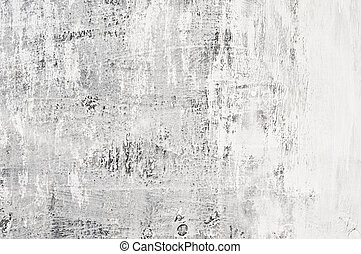 Grunge Wall Texture - Texture of white aged and grunge...