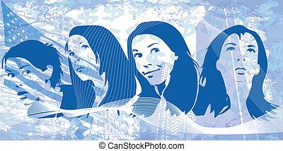 Grunge women