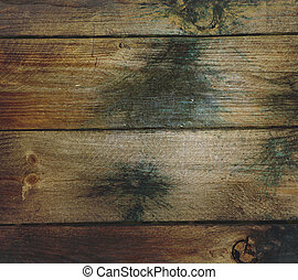 Grunge Wood and Paintball Background