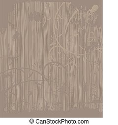 Grunge wooden background for your design