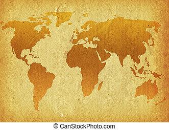 Grunge world map grunge world map background gumiabroncs Choice Image