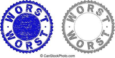 Grunge WORST Scratched Watermarks