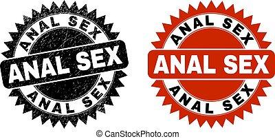grunged, rosette, oberfläche, geschlecht, watermark, schwarz, anal