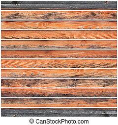 grungy, 木製の板, 薄れていった