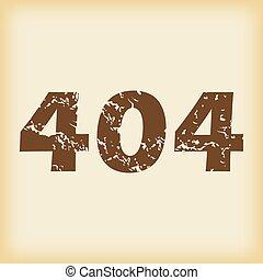 grungy, 404, アイコン