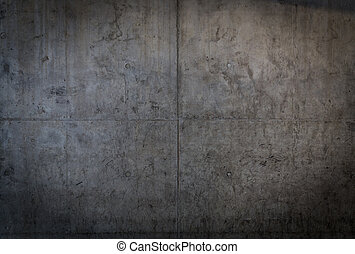 grungy, betongvägg