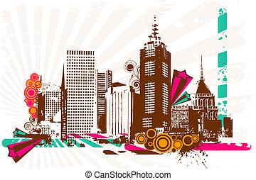 Grungy City