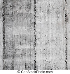 Grungy concrete background with wooden print