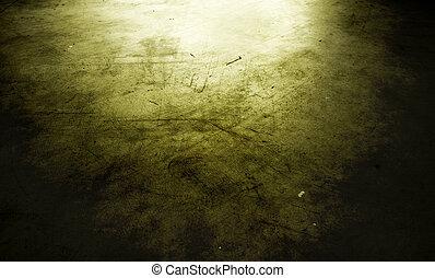 Grungy floor - Closeup of grungy concrete floor