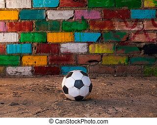 grungy football