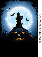 Grungy Halloween Card