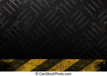 Grungy Hazard Background