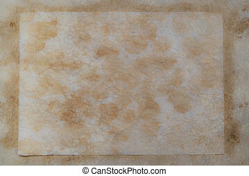 Grungy light brown paper background