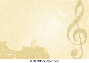 grungy, música, fundo