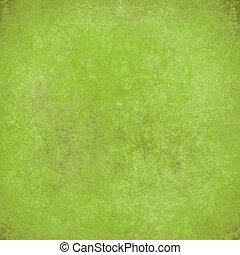 grungy, marbré, arrière-plan vert