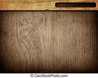 grungy, marco, madera, plano de fondo