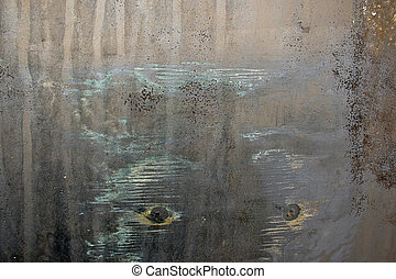 grungy metal texture macro